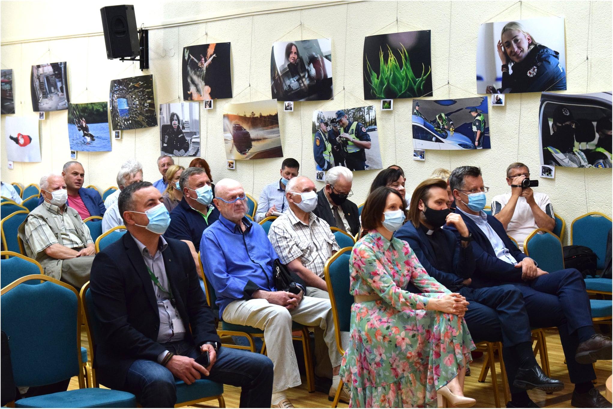 Lietuvos policijos veteranų asociacijos 2020 metų veiklos ataskaitinis susirinkimas Vilniuje