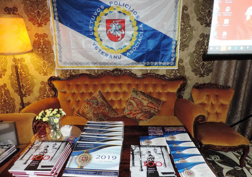 Lietuvos policijos veteranų asociacijos Rokiškio filialo ataskaitinis susirinkimas